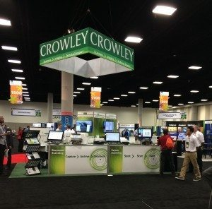 Crowley's finished product, ARMA Booth 1621, was the result of much teamwork and served as an easy access showcase to twelve scanning systems.