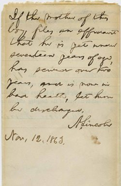 abraham-lincoln-note