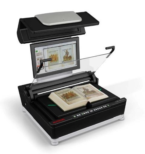 OS 16000 overhead book scanner